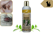 Cat shampoo for itching