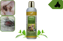 Puppy shampoo for itching